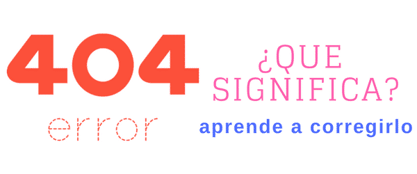 """Error 404 """"Not Found error was encountered"""" ¿como lo corrijo?"""
