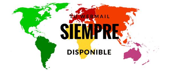 ¿Puedo acceder al Webmail desde cualquier parte del mundo?