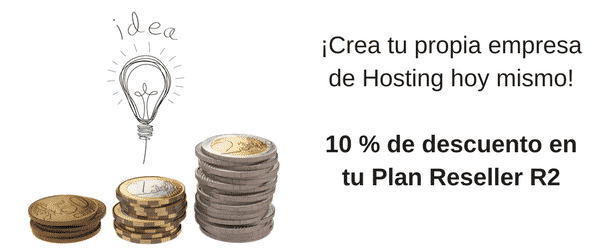 10% off en Plan Reseller R2