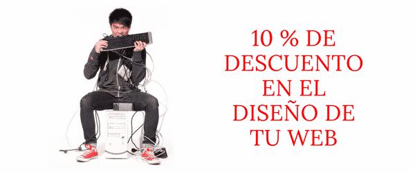 10% de descuento en diseño web