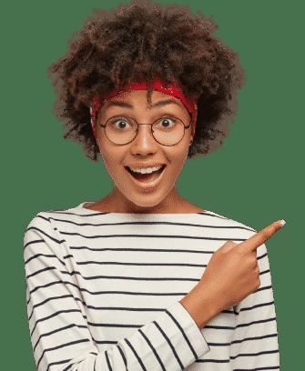 chica sorprendida hosting gratis